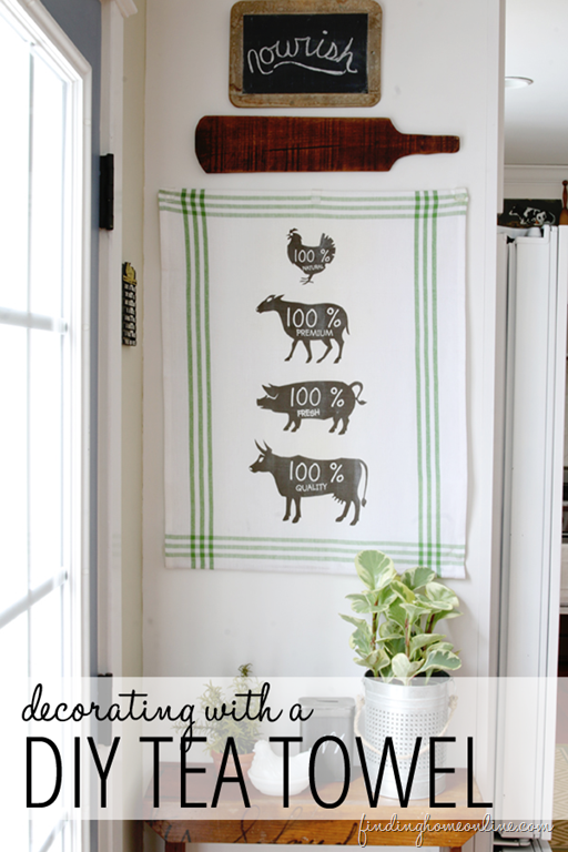decorating-with-a-DIY-tea-towel
