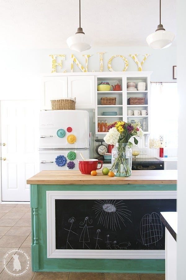 decorating above kitchen cabinets 10