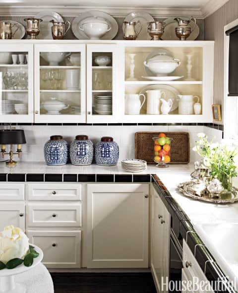 decorating above kitchen cabinets 8